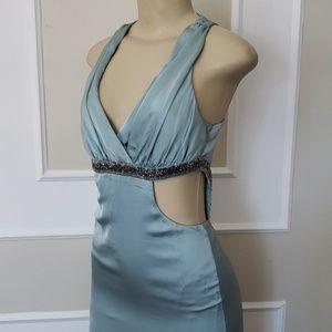 💥SALE❗Alberto Milaki blue cutout gown